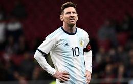 Sau trận thua ĐT Venezuela, Lionel Messi xin rút khỏi ĐT Argentina