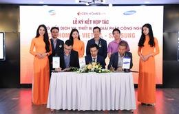 Viettel và Samsung hợp tác với website bất động sản