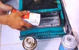 Thêm 1 vụ nổ bình gas mini ở trường học