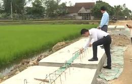 Công trình giao thông tại Hà Tĩnh thi công ẩu