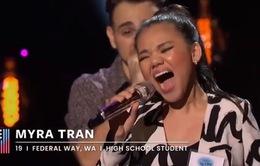 Cô gái Việt tiếp tục giành chiến thắng vòng 2 American Idol