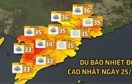 Nam Bộ nắng nóng trở lại