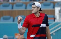 Miami mở rộng 2019: Isner, Djokovic giành quyền đi tiếp, Fognini bị loại