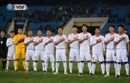 HLV Park Hang Seo được thay 11 cầu thủ trong trận ĐT U22 Trung Quốc - ĐT U22 Việt Nam