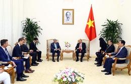 Thủ tướng đề nghị Tập đoàn VISA hỗ trợ Việt Nam trong số hóa các hình thức thanh toán