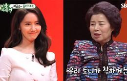 YoonA phản ứng thế nào khi được hỏi làm con dâu trên sóng truyền hình?