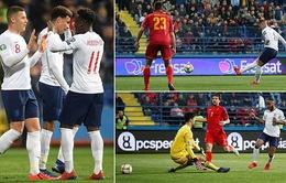 Kết quả bóng đá vòng loại EURO 2020 sáng 26/3: ĐT Montenegro 1-5 ĐT Anh, ĐT Bồ Đào Nha 1-1 ĐT Serbia, ĐT Pháp 4-0 ĐT Iceland