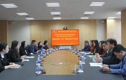 Tăng cường hợp tác giữa Đài THVN và Đài PTTH Quảng Tây (Trung Quốc)