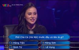 """Phương Oanh """"Quỳnh búp bê"""" ẵm 14 triệu đồng ở Ai là triệu phú"""