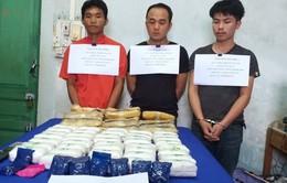 Quảng Bình: Bắt 4 đối tượng cầm đầu đường dây ma túy xuyên quốc gia