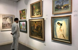 Giới thiệu các tác phẩm mỹ thuật đẹp mắt của Việt Nam và Hàn Quốc