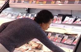 Sức mua thịt lợn tại các siêu thị tăng