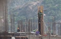 Bị xử phạt, Nhiệt điện Vĩnh Tân 1 vẫn xây dựng công trình trái phép