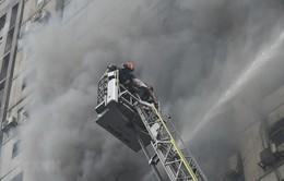 Gia tăng số nạn nhân thiệt mạng vụ cháy ở Bangladesh