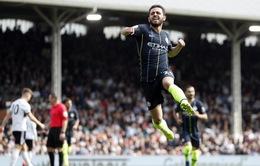 VIDEO tổng hợp diễn biến Fulham 0-2 Man City (Vòng 32 Ngoại hạng Anh)