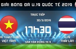 Lịch trực tiếp bóng đá hôm nay (30/3): U19 Việt Nam tranh cúp với U19 Thái Lan, Man Utd tiếp đón Watford