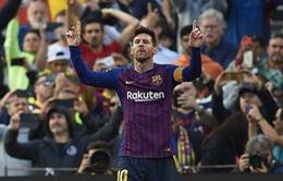 Kết quả bóng đá quốc tế sáng 31/3: Không Ronaldo, Juventus thắng tối thiểu, Messi lập cú đúp giúp Barca thắng derby Catalan