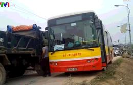 Tăng cường an toàn giao thông trên các tuyến xe bus về ngoại thành