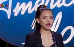 """Cô gái Việt gây sốt tại American Idol với giọng hát """"khủng"""""""
