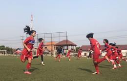 U16 nữ Việt Nam thoải mái trên sân tập, tự tin trước trận gặp U16 nữ Australia