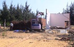 Bình Định cưỡng chế xây dựng trái phép khu kinh tế Nhơn Hội