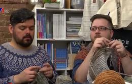 Thú vị câu lạc bộ dành cho đàn ông thích đan len