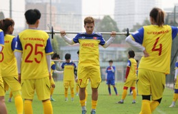 Hướng tới Vòng loại 2 Olympic 2020, ĐT nữ Việt Nam duy trì rèn thể lực nâng cao