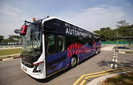 Singapore ra mắt xe bus điện không người lái đầu tiên trên thế giới