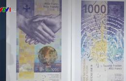 Ngân hàng Trung ương Thụy Sĩ công bố đồng 1.000 Franc mới