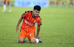 SHB Đà Nẵng sẽ không có Hà Đức Chinh trong 3 tháng vì chấn thương