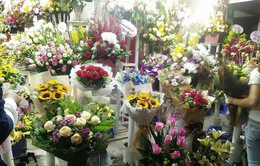 Phong phú thị trường hoa ngày 8/3