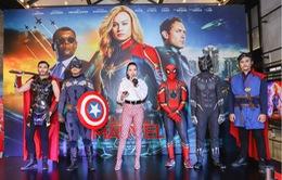 Dàn sao Việt đổ bộ đến họp báo ra mắt Captain Marvel