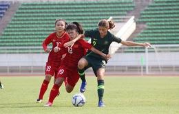 U16 nữ Việt Nam để thua đáng tiếc U16 Australia ở vòng loại U16 nữ châu Á 2019