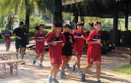 HLV trưởng Nguyễn Mai Lan: U16 nữ Việt Nam đang có thể lực tốt, sẵn sàng cho lượt đấu quyết định