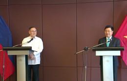 Phó Thủ tướng Phạm Bình Minh đồng chủ trì Kỳ họp lần thứ 9 Uỷ ban hỗn hợp về Hợp tác song phương Việt Nam - Philippines