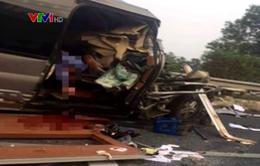 Tai nạn giao thông nghiêm trọng trên cao tốc Pháp Vân - Cầu Giẽ khiến 2 người tử vong