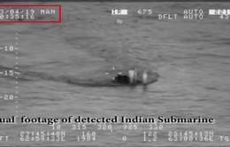Ấn Độ bác tin tàu ngầm xâm nhập vùng biển Pakistan
