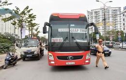 Tăng cường xử lý xe khách dừng đỗ sai quy định