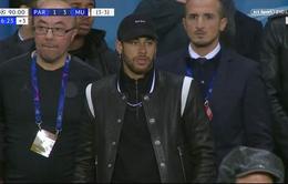 Neymar xúc phạm tổ trọng tài VAR vì quả penalty phút 90 của Man Utd