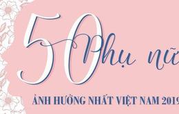 INFOGRAPHIC 50 phụ nữ ảnh hưởng nhất Việt Nam 2019