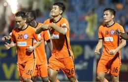 HLV Lê Huỳnh Đức hết lời khen Đức Chinh sau bàn đầu tiên ở V.League 2019