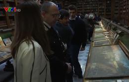 Italy trao trả gần 600 bức tranh tôn giáo cho Mexico