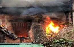 Cháy ở phố Nhà Hỏa, Hoàn Kiếm, Hà Nội