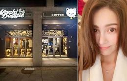 Vợ Châu Kiệt Luân đóng cửa tiệm cà phê vì tiền thuê mặt bằng quá cao