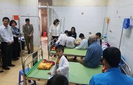 38 học sinh ăn nhầm bột thông bồn cầu ở Hải Dương đã đi học trở lại
