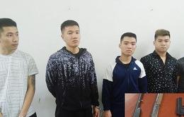 Tạm giữ hình sự 5 đối tượng dùng súng bắn người ở Thanh Hóa