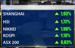 Kinh tế Trung Quốc khởi sắc, chứng khoán châu Á bật tăng