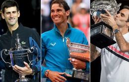 Những ông hoàng danh hiệu lớn của quần vợt thế giới