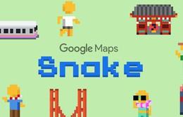 """Google mang trò chơi """"rắn huyền thoại"""" lên ứng dụng bản đồ"""