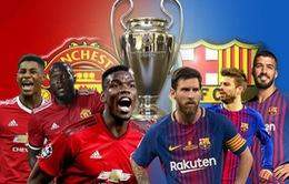Lịch trực tiếp bóng đá hôm nay (10/4): Man Utd chạm trán Barcelona